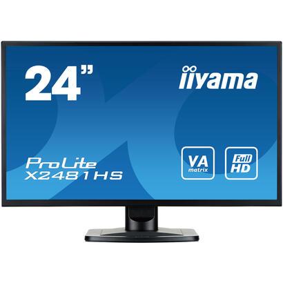 monitor-iiyama-2361-prolite-x2481hs-b11920-x-1080-full-hd-va250-cdm300016-mshdmi-dvi-d