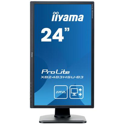 monitor-iiyama-2381-prolite-xb2483hsu-b31920-x-1080-fhda-mva250-cdm300014-mshdmi-vga-displayportaltavocesnegro