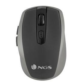 ngs-raton-inalambrico-flea-pro-silver-24ghz-8001600dpi-2-botones-receptor-nano-usb-gris