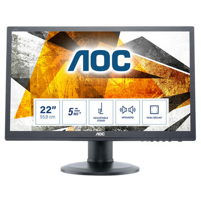 monitor-aoc-221-e2260pqbk-16102msvgadvidpsppivotante