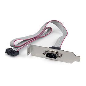 startech-bracket-serie-db9-rs232-a-idc-10-pines-placa-base-perfil-bajo-04m-plate9m16lp