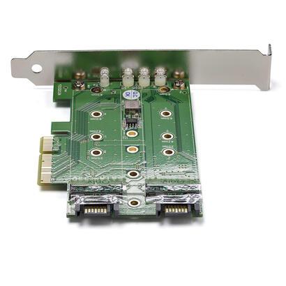 startech-tarjeta-pci-express-30-3-puertos-m2-para-ssd-1x-nvme-2x-sata-iii-pexm2sat32n1