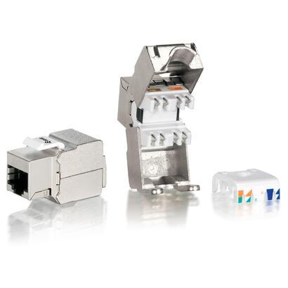 equip-kit-8-uds-conector-hembra-rj45-ftp-cat6-panel-keystone-tool-freea-767211