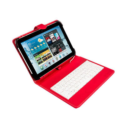 funda-universal-silver-ht-para-tablet-9-101-teclado-con-cable-micro-usb-rojoblanco