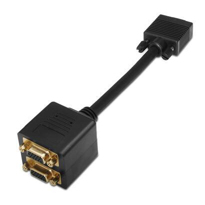 aisens-cable-bifurcador-svga-3c9-negro