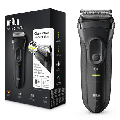 afeitadora-braun-proskin-series-3-3020-negra-3-elementos-de-corte-tecnologia-microcomb-resistente-al-agua-bateria-mango-ergonomi