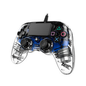 gamepad-nacon-ps4-cristal-azul-cable-3mtouchpadluz-ledentrada-auricular-ps4ofcpadclblue