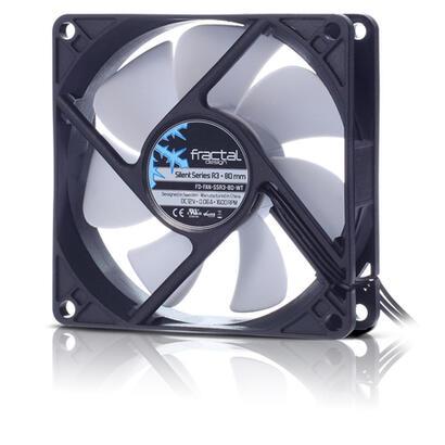 fractal-ventilador-caja-silent-series-80mm-r3-fractal-design-silent-series-r3-80-mm-carcasa-del-ordenador-ventilador-8-cm-1600-r
