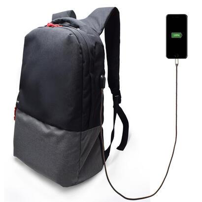 ewent-notebook-backpack-173-inch-black-with-usb-charging-port-ewent-ew2529-mochila-439-cm-173-790-g-negro