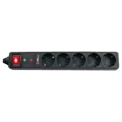 riello-regleta-thunder-5002-5-tomas-schuko-maxima-potencia-250v16a-maximo-voltaje-6000v-boton-onoff
