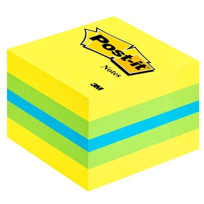 notas-adhesivas-post-it-mini-cubo-51-x-51-mm-amarillo-limon-compuesto-por-los-colores-amarillo-verde-y-azul-400-hojas-cubo