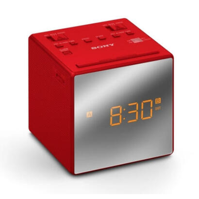 sony-radio-despertador-rojo-icfc1tr-con-2-alarmas-configurables