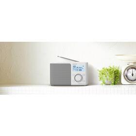 sony-xdr-s61d-blanco-radio-dabdab-portatil-con-pantalla-lcd-presintonias-directas-temporizador-de-apagado-y-despertador