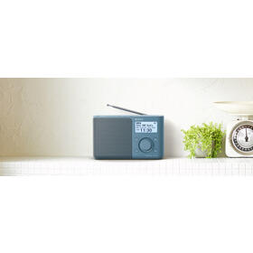 sony-xdr-s61d-azul-radio-dabdab-portatil-con-pantalla-lcd-presintonias-directas-temporizador-de-apagado-y-despertador