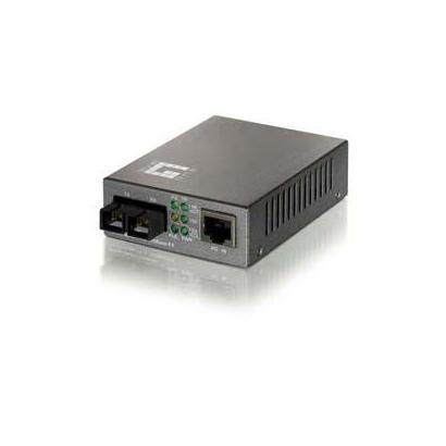 conversor-fibra-optica-level-one-10100tx-a-100fx-sc-mm-2km