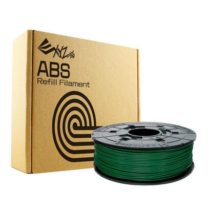 bobina-filamento-abs-color-bottle-green-600gr-con-chip-para-rellenar-cartuchos-xyz-davinci-10-pro