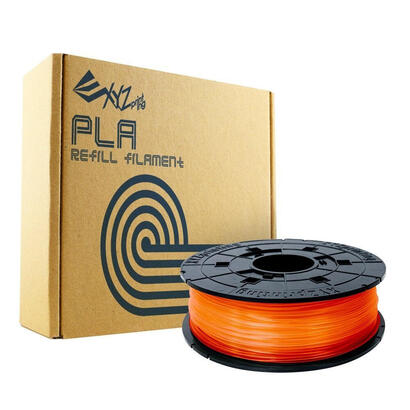 bobina-filamento-pla-color-clear-tangerine-naranja-600gr-con-chip-para-rellenar-cartuchos-de-impresora-xyz-davinci-10-pro