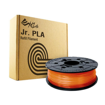 bobina-filamento-pla-color-clear-tangerine-naranja-600gr-para-impreosras-xyz-modelos-junior-mini-nano