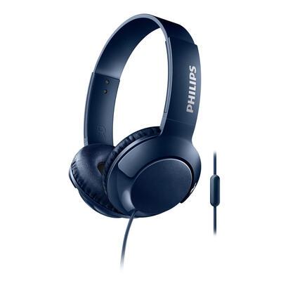 philips-auriculares-bassmicrofono-shl3075bl-azul