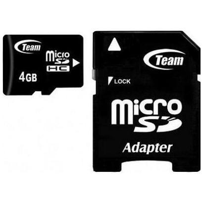 team-group-micro-sd-4gb-clase10-con-adaptador