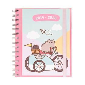 agenda-escolar-erik-asv1913-sv-pusheen-gold-15519cm-sept-19junio-2020-128pag-80g-regla-marcapaginas-laminas-separadoras-pegatina