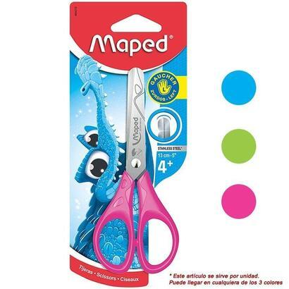 tijeras-escolares-maped-essentials-pulse-464310-especial-zurdos-punta-redondeada-hojas-graduadas-en-cm-13cm-colores-surtidos-ale
