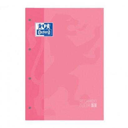 recambio-oxford-cuaderno-a4-rosa-chicle-80-hojas-papel-80gr-4-taladros-cuadricula-55-con-margen