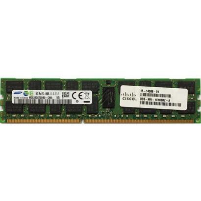 ocasion-cisco-ddr4-32-gb-lrdimm-288-pin-2133-mhz-pc4-17000-cl15-12-v-load-reduced-ecc-for-ucs-b200-m4-c220-m4