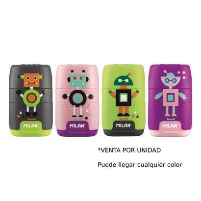 combinacion-de-goma-y-sacapuntas-compact-happy-bots-colores-surtidos