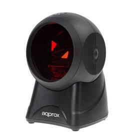 approx-scanner-codigo-de-barras-sobremesa-appls06omini-bidireccional-multilanea-conexion-usb-color-negro