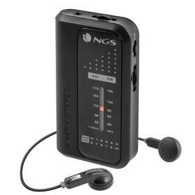 ngs-radio-portatil-code-knock-black-fmam-2aaa-conexion-auriculares-35mm-pinza-trasera