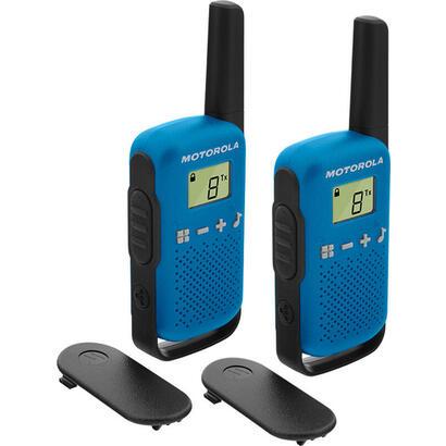 walkie-talkie-motorola-tlkr-t42-azul-packs-2-pmr4468km16canales500mwclip-cinturon-59t42bluepack