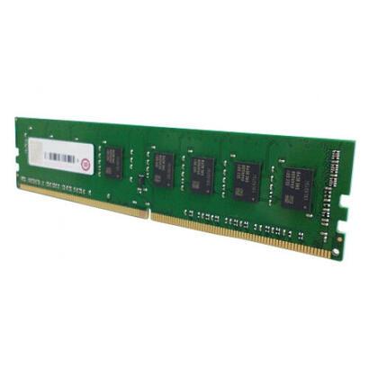qnap-accesorio-4gb-ddr4-ram-2400-mhz-udimm-ram-4gdr4a1-ud-qnap-ram-4gdr4a1-ud-2400-4-gb-1-x-4-gb-ddr4-2400-mhz-288-pin-dimm-verd