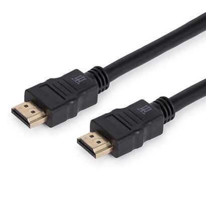 basic-cable-hdmi-maillon-dorado-conector-high-speed-bc-negro-30m