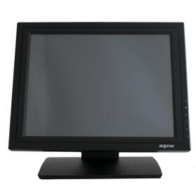 approx-monitor-tactil-appmt15w5-15-768-300cdm2-5ms-160140-grado-a-compatible-vesa-base-estable-color-negro