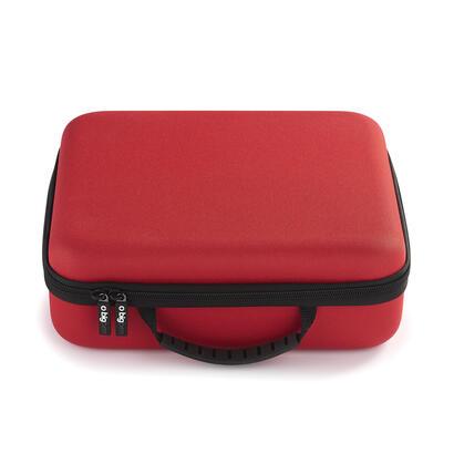maletin-nintendo-switch-bigben-storage-case-rojo-rigido-varios-compartimentos-interiores-switchstorcasered