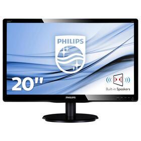 monitor-philips-195-200v4lab2-led-multimedia-1600x90060hz5ms10m1200cd-dvi-d-v