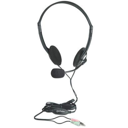 manhattan-auriculares-de-diadema-con-microfono-negro-164429