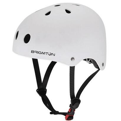 brigmton-bh-1-b-blanco-casco-patin-acolchado-interior-cierre-clip-talla-ajustable