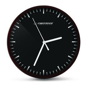 esperanza-ehc010k-budapest-reloj-de-pared-negro