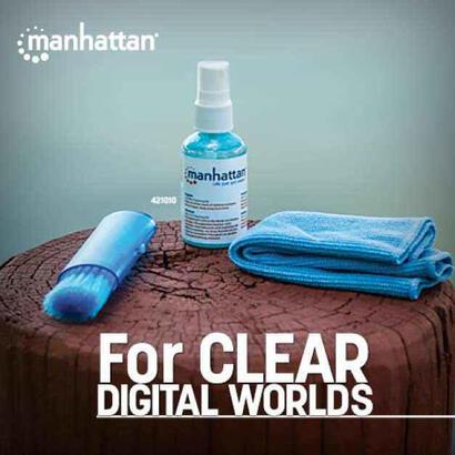 manhattan-421010-kit-de-limpieza-para-computadora-liquido-y-panos-secoshumedos-para-limpieza-de-equipos-lcdtftplasma-60-ml