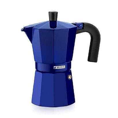 cafetera-monix-cobalto-azul-capacidad-6-tazas-aluminio-mango-ergonomico-exterior-esmaltado-brillo