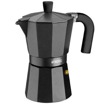 cafetera-monix-vitro-noir-capacidad-12-tazas-aluminio-con-recubrimiento-antiadherente-mango-ergonomico-exterior-mate-interior-si