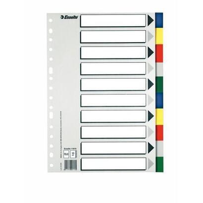 esselte-10-separadores-multitaladro-polipropileno-folio-colores-con-caratula-indice-carton-blanco-negro