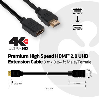club3d-premium-high-speed-hdmi-20-4k60hz-extension-cable-3-metro-machohembra