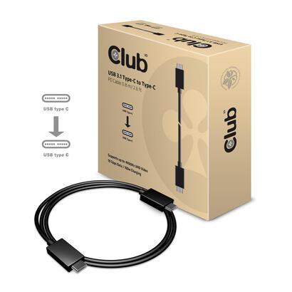 club3d-usb-type-c-cable-mm-08meter-active-pd-100watt-4k60hz