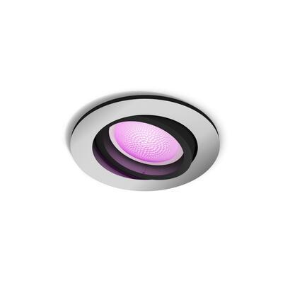 philips-hue-lampara-de-techo-empotrable-aluminium-1x57w-okragaa