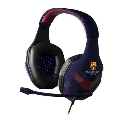 mars-gaming-auriculares-mhbc-edicion-euroliga-fc-barcelona-jack-35mm-chapado-en-oro-microfono-abatible-40mm-neodymium-ultra-bass