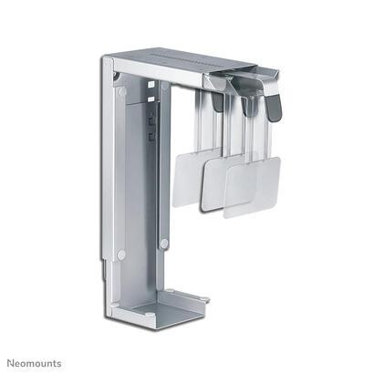newstar-cpu-mount-cpu-d100silversoporte-de-la-unidad-del-sistemainstalable-debajo-del-escritorioplata
