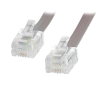 startechcom-25-ft-rj11-telephonemodem-cable-762-m-gris